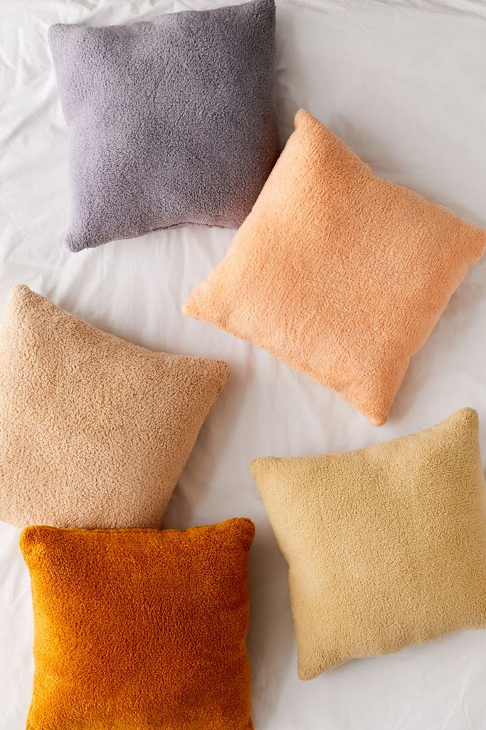 Sherpa Throw Pillow Urban Outfitters