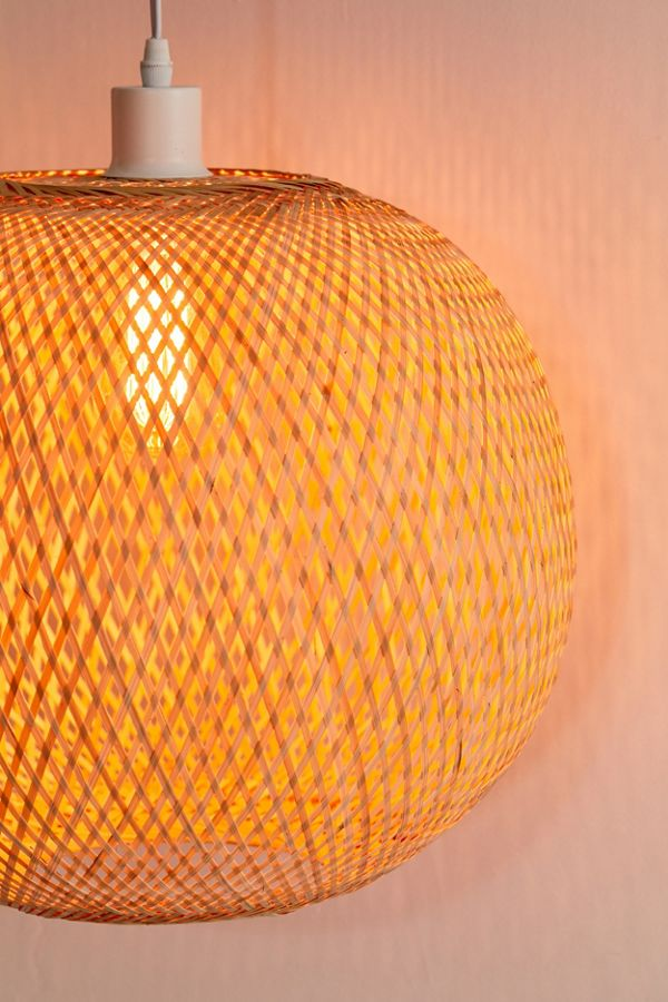 Alina Rattan Pendant Light