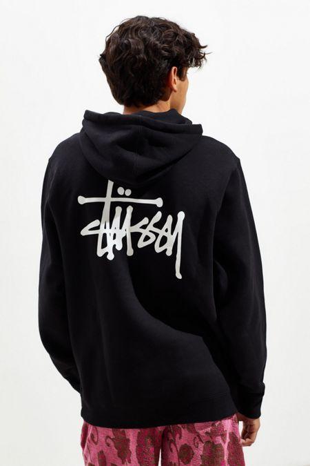 a2b23d3733a Stussy Logo Hoodie Sweatshirt