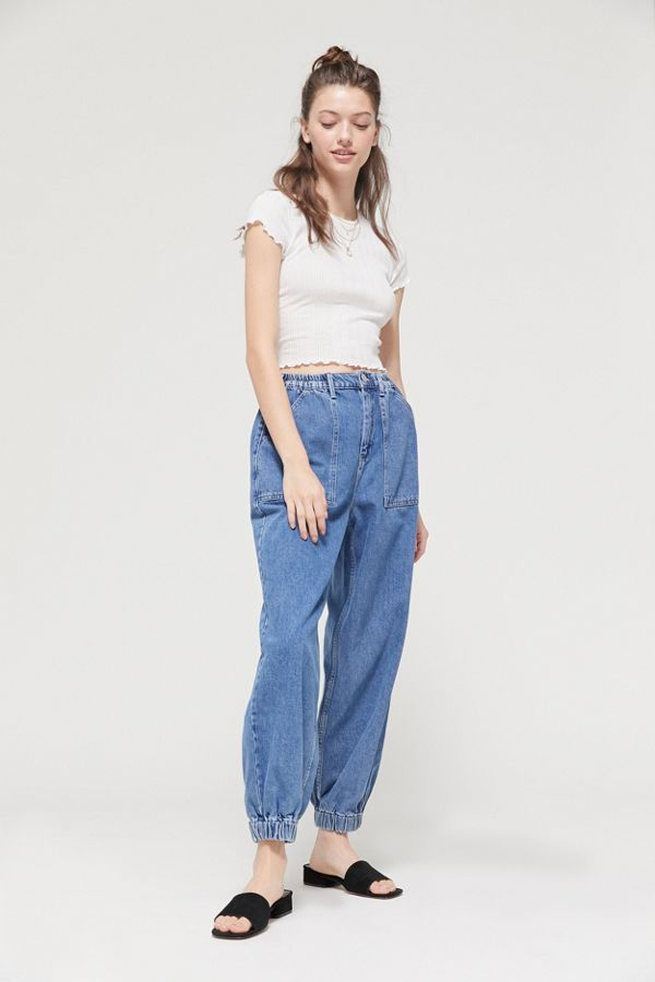 street price biggest selection top-rated fashion BDG Luca High-Waisted Jogger Jean