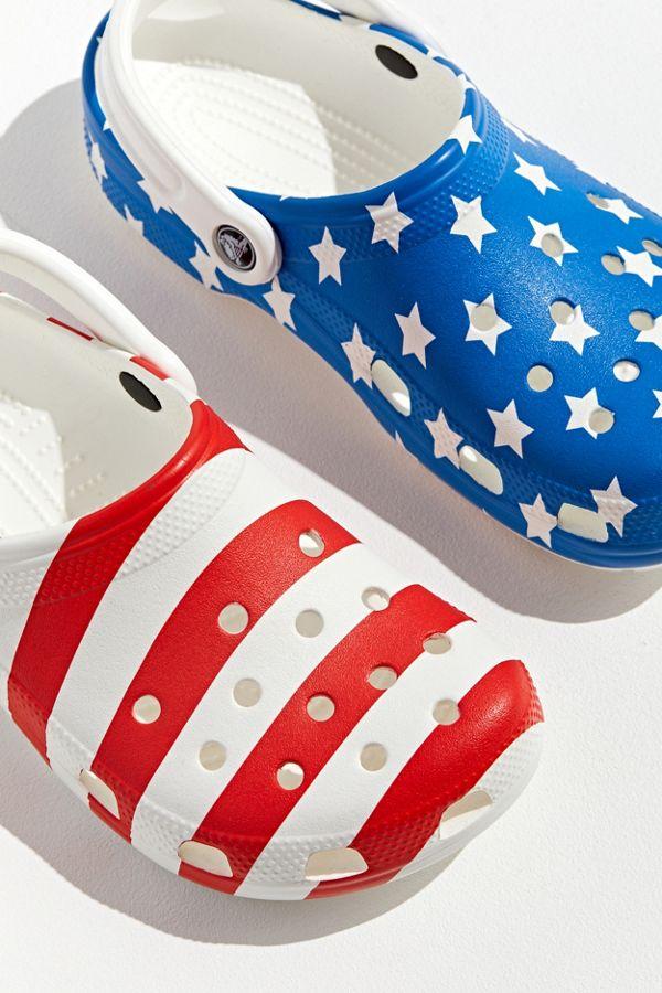 3d595994981 Crocs Classic American Flag Clog