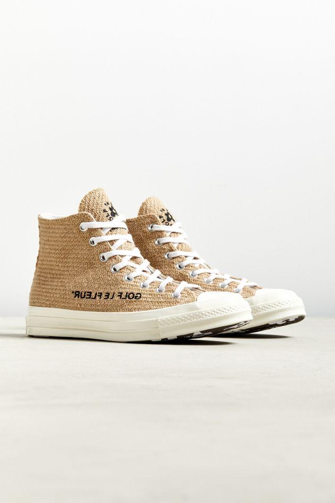 Converse X Golf Le Fleur Burlap Chuck 70 High Top Sneaker Urban Outfitters