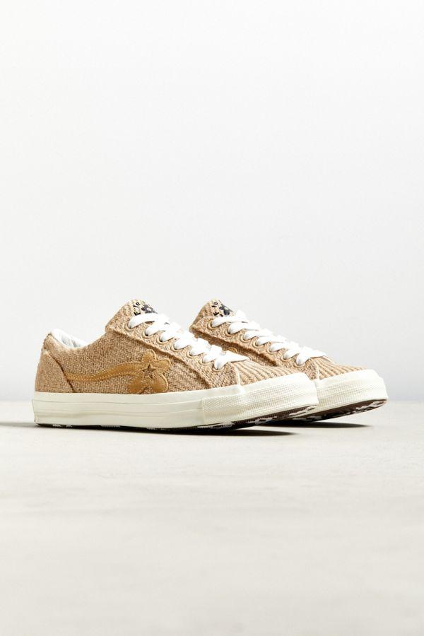 8a555ca5bdf905 Converse X Golf Le Fleur Burlap Ox One Star Sneaker