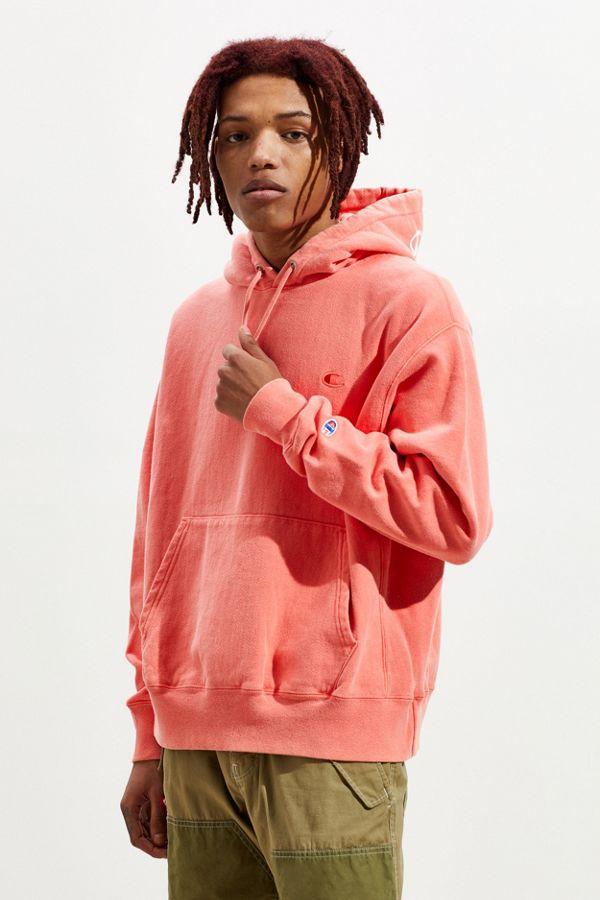 0c87dcf1550108 Slide View  2  Champion Garment Dye Reverse Weave Hoodie Sweatshirt
