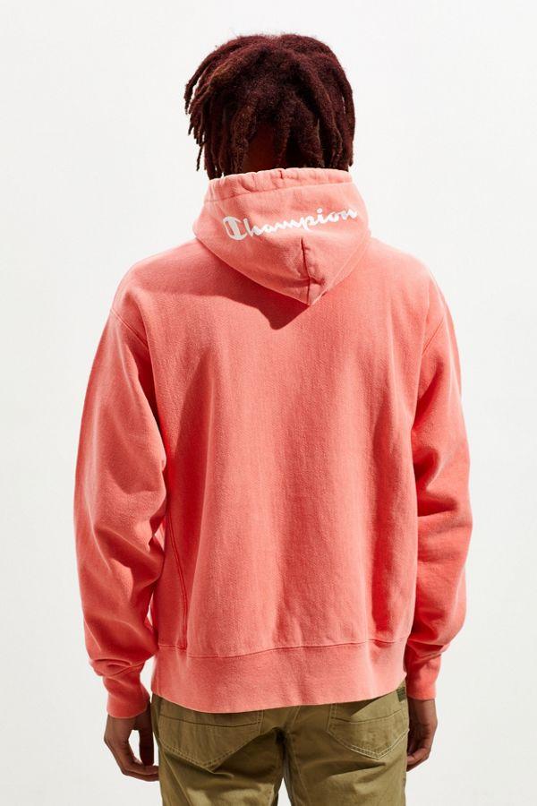 b0b5c5ecda5164 Slide View  5  Champion Garment Dye Reverse Weave Hoodie Sweatshirt