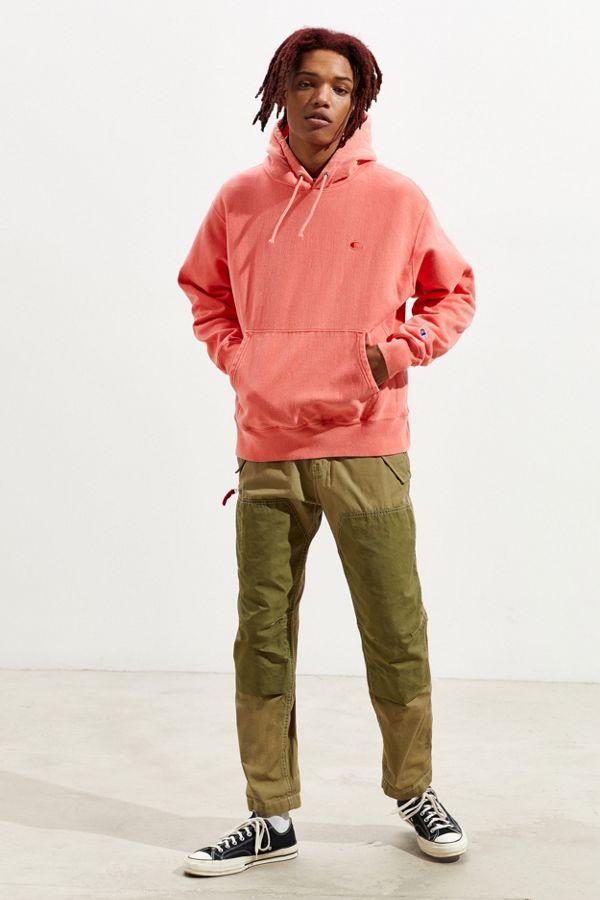 f6f467b26504bc Slide View  6  Champion Garment Dye Reverse Weave Hoodie Sweatshirt