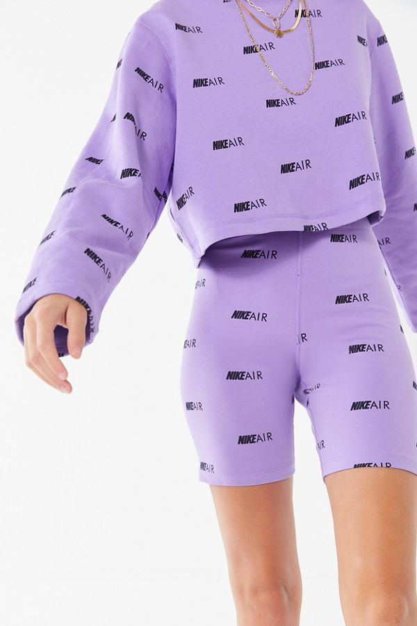 035fb7d78 Nike Air Allover Logo Print Bike Short | Urban Outfitters