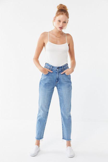 96b32b5bc21 Wrangler Drew High-Rise Straight Leg Jean – Bang Bang Blue