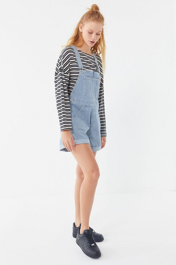 d3d239165fc wrangler-uo-exclusive-striped-shortall-overall by wrangler