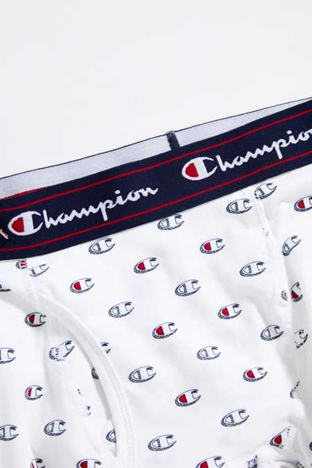 Champion C Logo Printed Boxer Brief