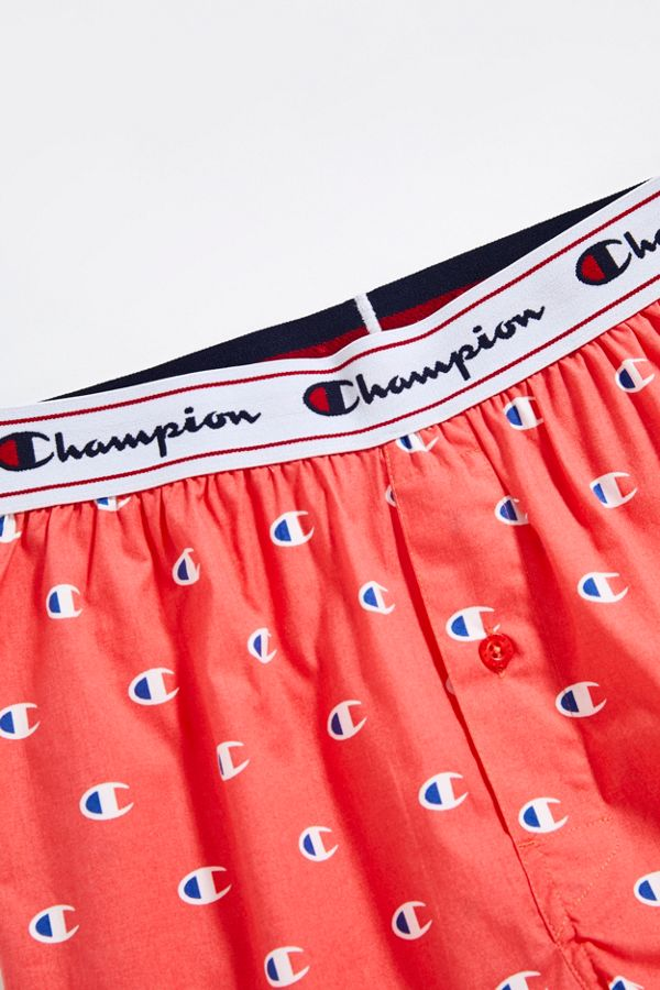 9fcd2520f0bb Champion C Print Woven Boxer | Urban Outfitters