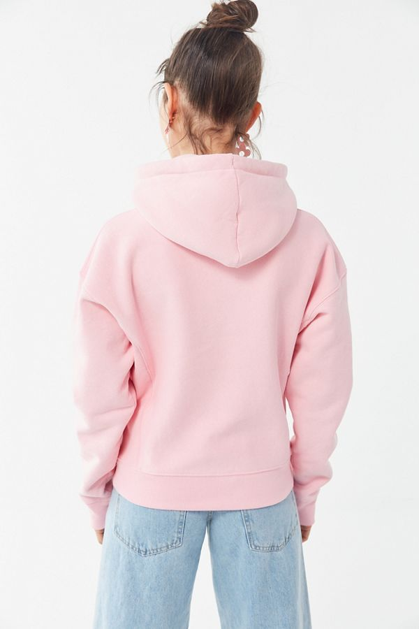 e6f5ed5b89f38d Slide View  4  Champion UO Exclusive Daisy Logo Hoodie Sweatshirt