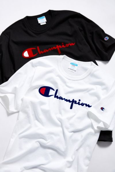 35414b727 Champion - Men's Branded Logo Tees + Logo T-Shirts | Urban Outfitters