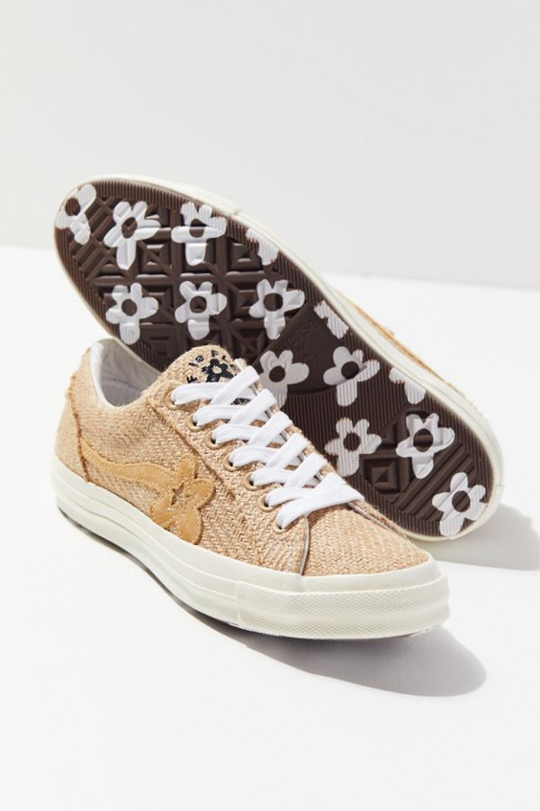 Converse X Golf Le Fleur One Star Burlap Sneaker