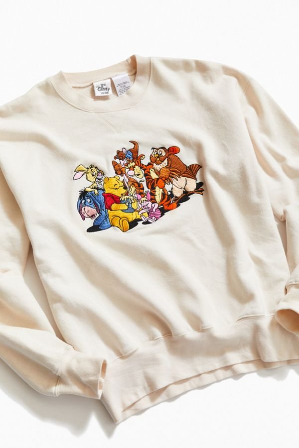Vintage Winnie The Pooh Crew Neck Sweatshirt