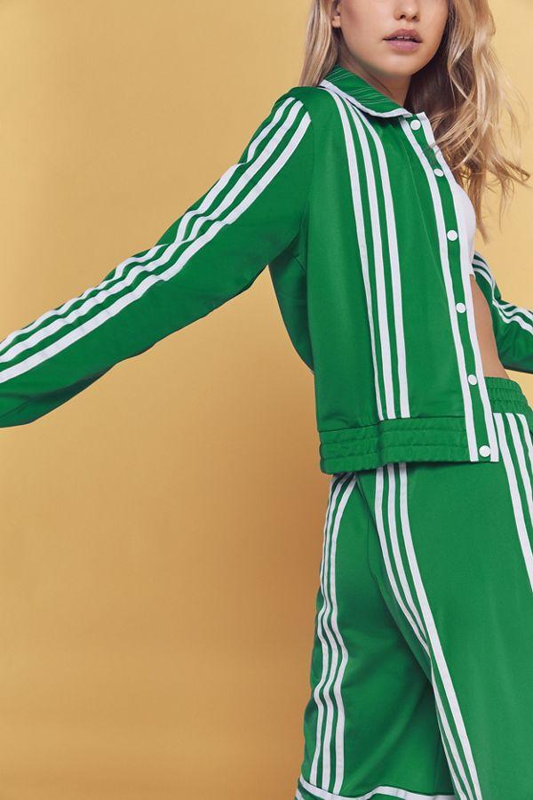 adidas Originals By Ji Won Choi 3-Stripes Snap Button Track Jacket