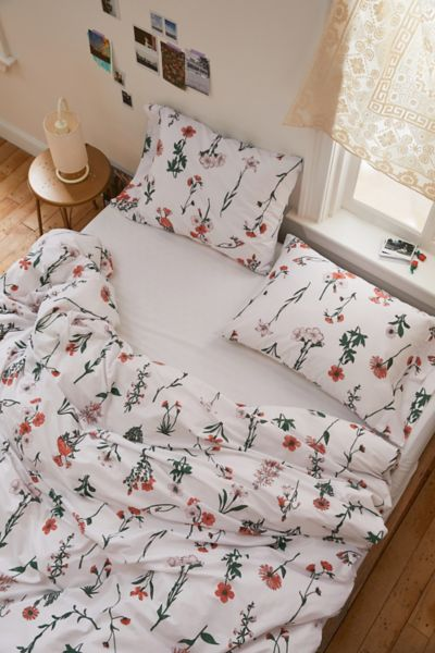 Picture of: Georgina Stems Duvet Set Urban Outfitters