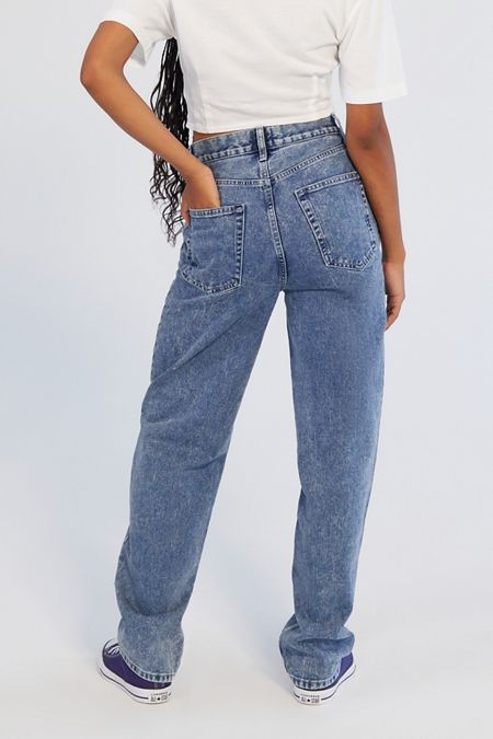 18a9e8ee5eb BDG Baggy High-Rise Straight Leg Jean – Vintage Denim