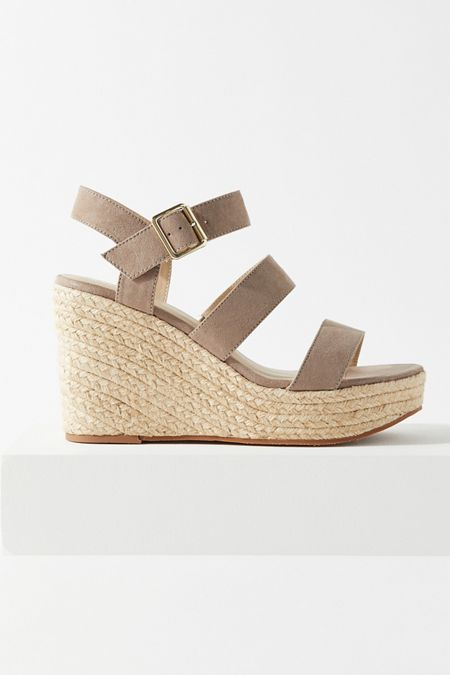 e13133608 BC Footwear Snack Bar Espadrille Wedge Sandal
