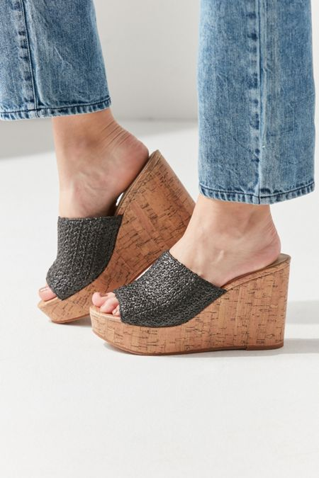 befea89206c0 BC Footwear Perennial Cork Wedge