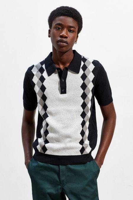 fa6b3605866 UO Benny Sweater Polo Shirt