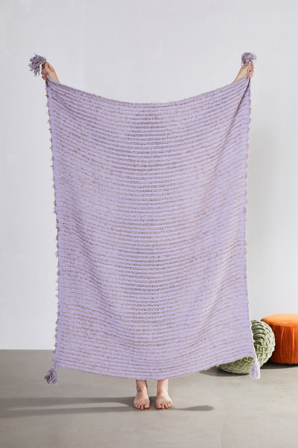 Jules Tassel Throw Blanket