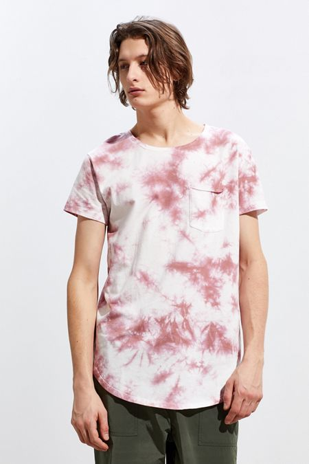 54458b9e654242 UO Washed Scoop Neck Curved Hem Tee