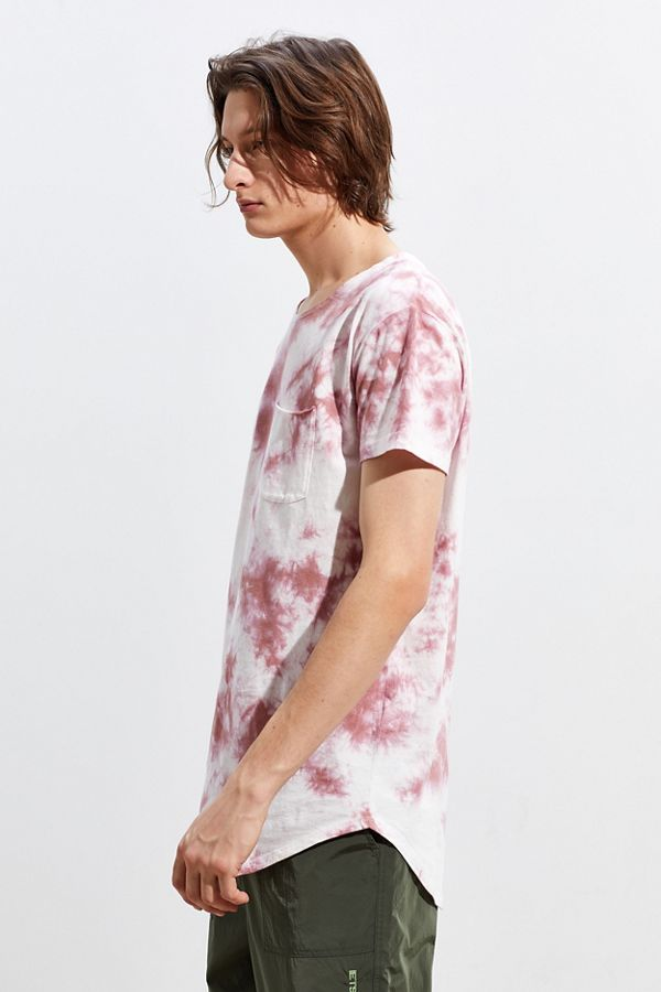 Slide View: 3: UO Washed Scoop Neck Curved Hem Tee