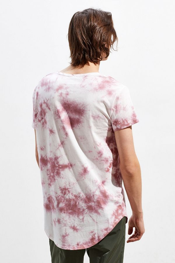 Slide View: 4: UO Washed Scoop Neck Curved Hem Tee