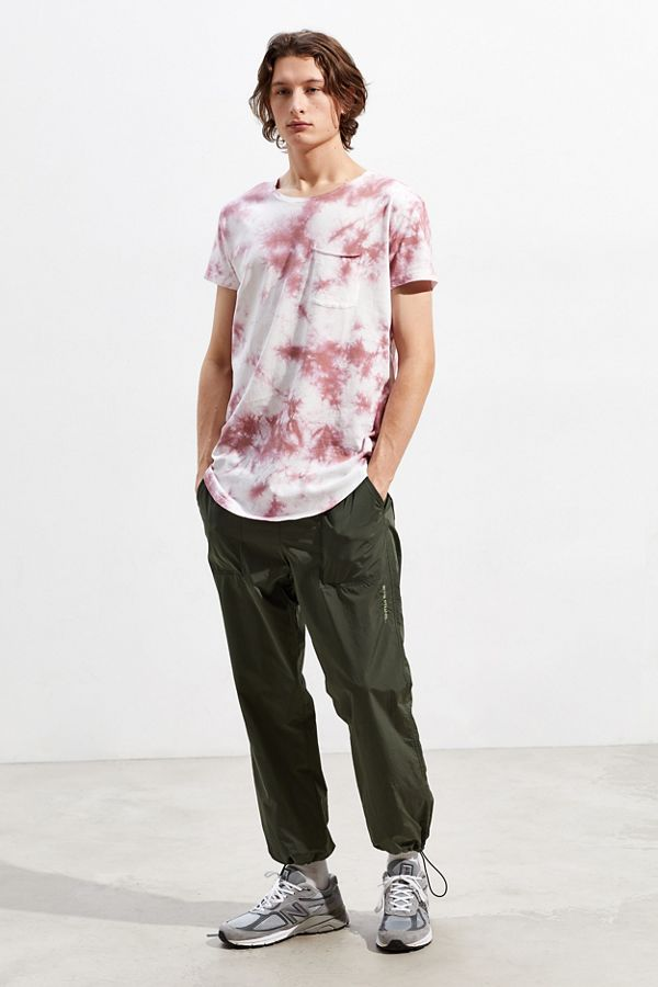 Slide View: 5: UO Washed Scoop Neck Curved Hem Tee