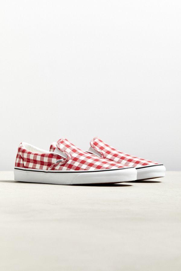 64c6e4cd69 Slide View  1  Vans Gingham Slip-On Sneaker