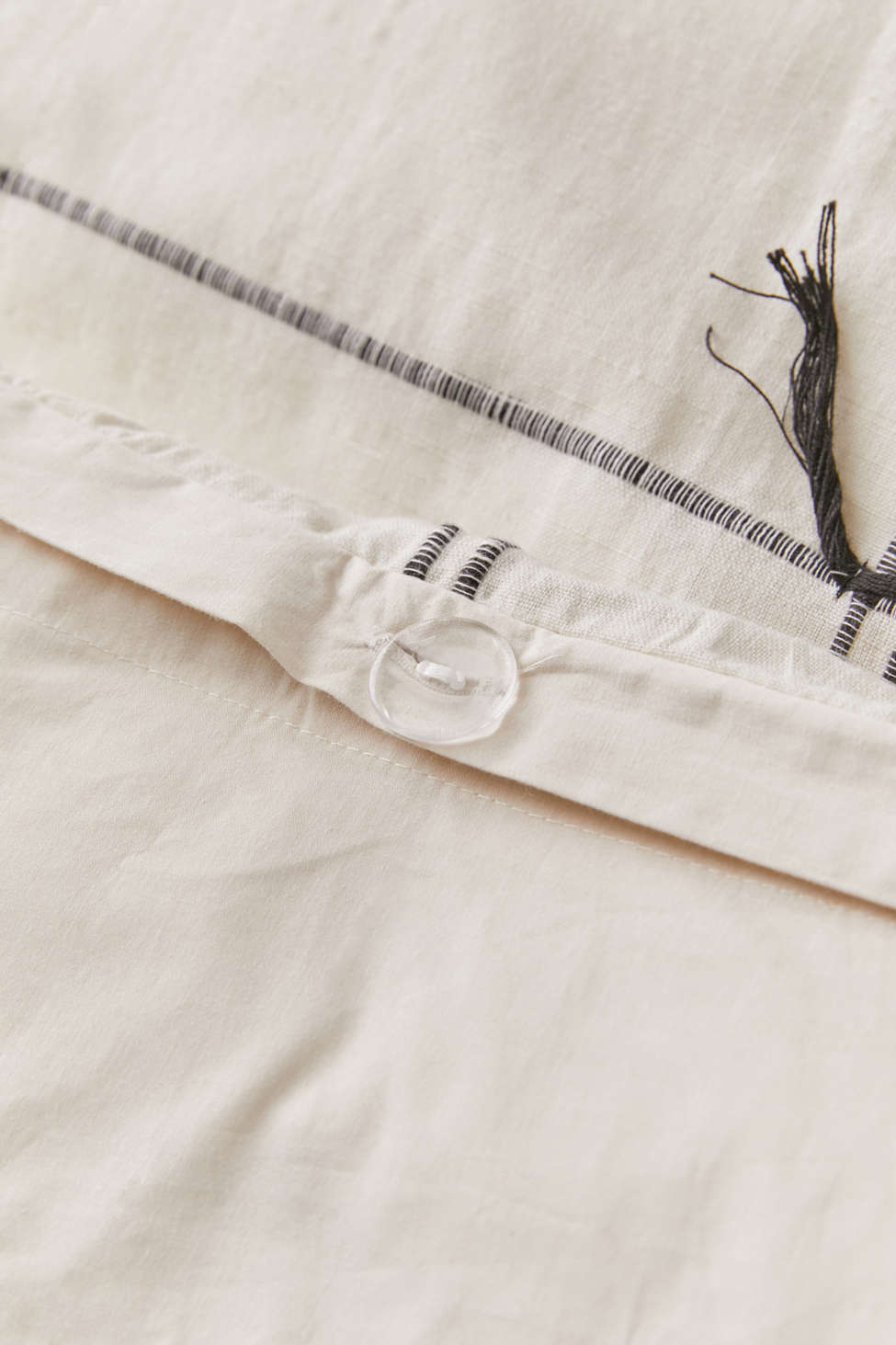 Winona Jacquard Grid Duvet Cover by Urban Outfitters