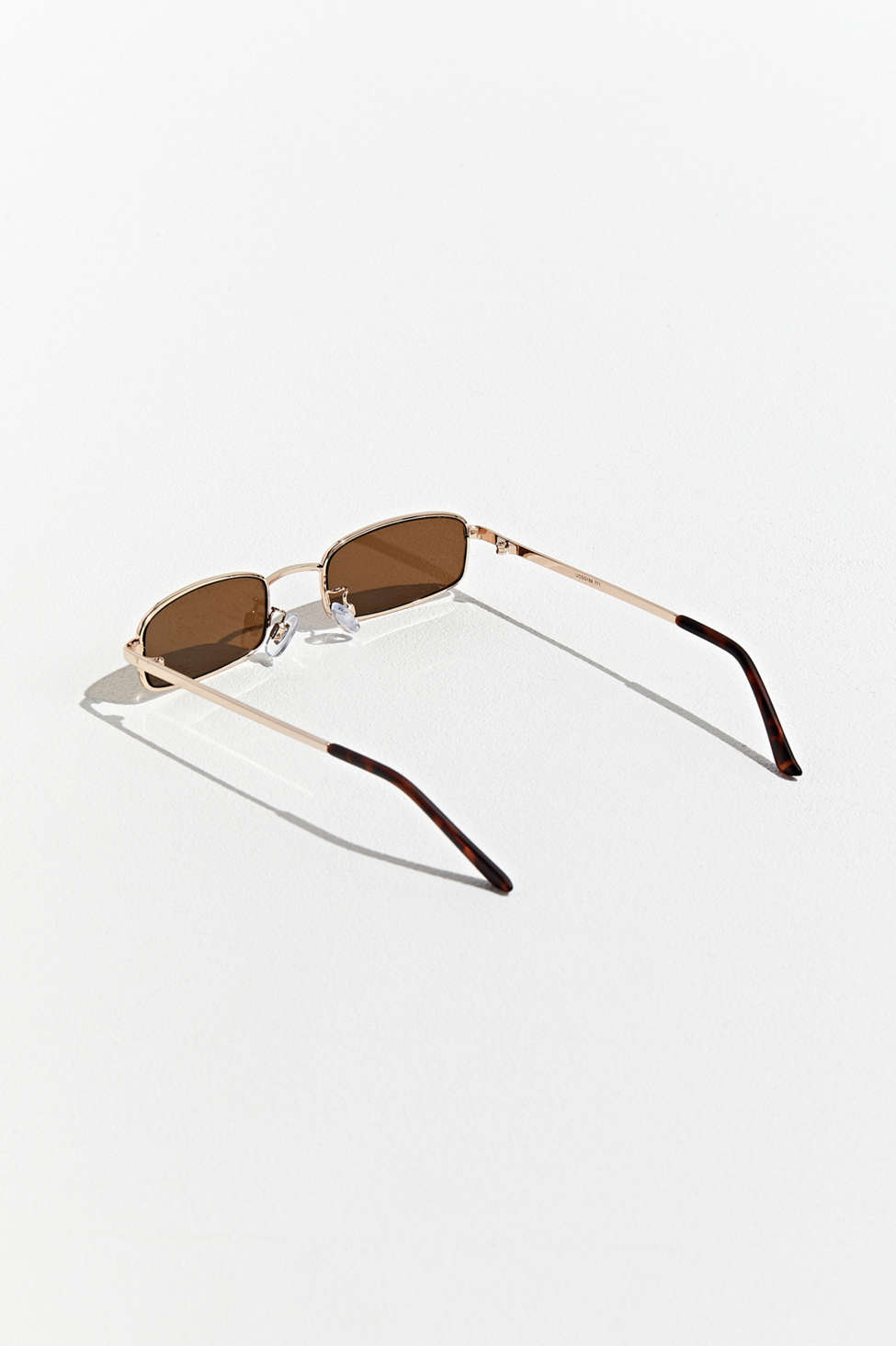 New Metal Rectangle Sunglasses by Urban Outfitters