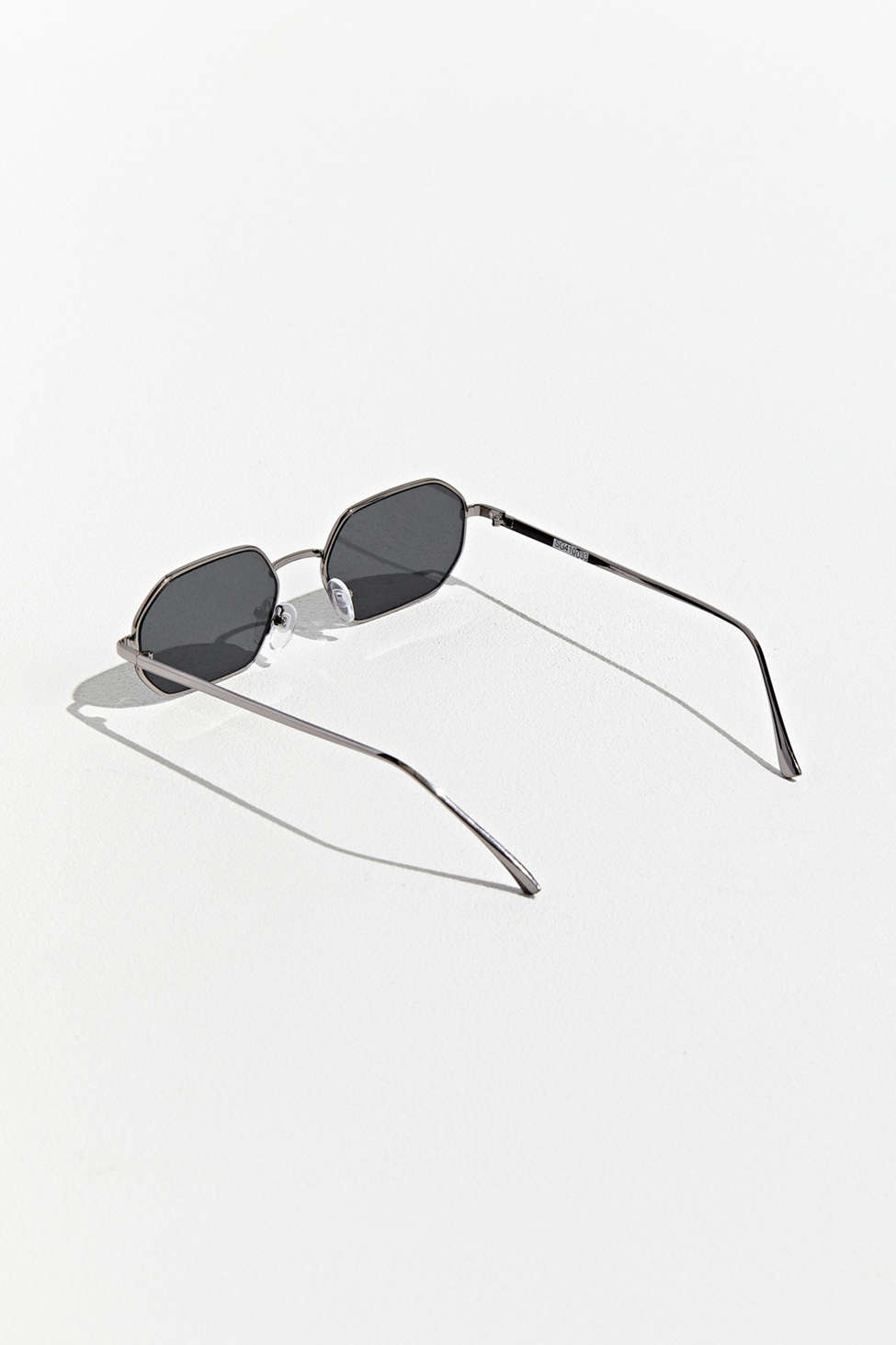 Metal Hexagon Sunglasses by Urban Outfitters