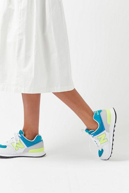d321c2622dcf2 New Balance 574 Pebbled Sneaker
