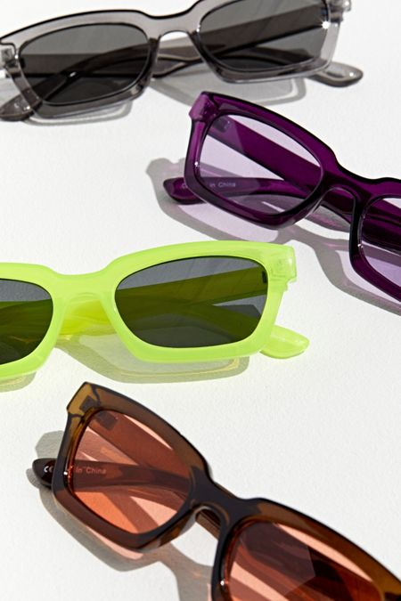 652b3cab54f Plastic Modern Cat Sunglasses