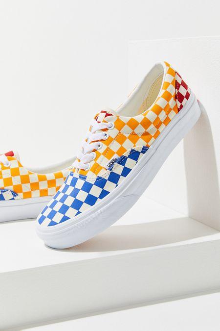 d4015004e13753 Vans Era Primary Checkerboard Sneaker
