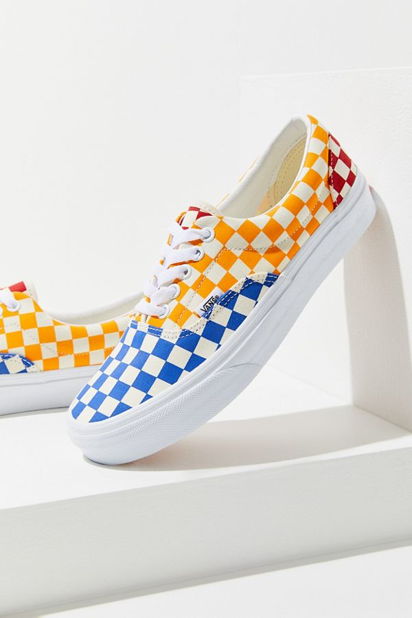 075593f85d Slide View  1  Vans Era Primary Checkerboard Sneaker
