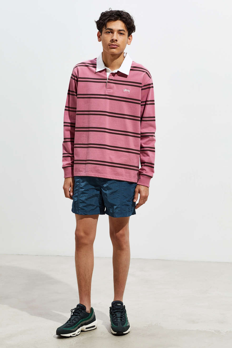 Uo Lucien Shine Nylon Short by Urban Outfitters
