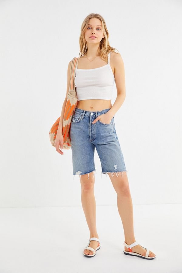 f65bd76f64 AGOLDE '90s Mid-Rise Bermuda Short – Roundabout | Urban Outfitters