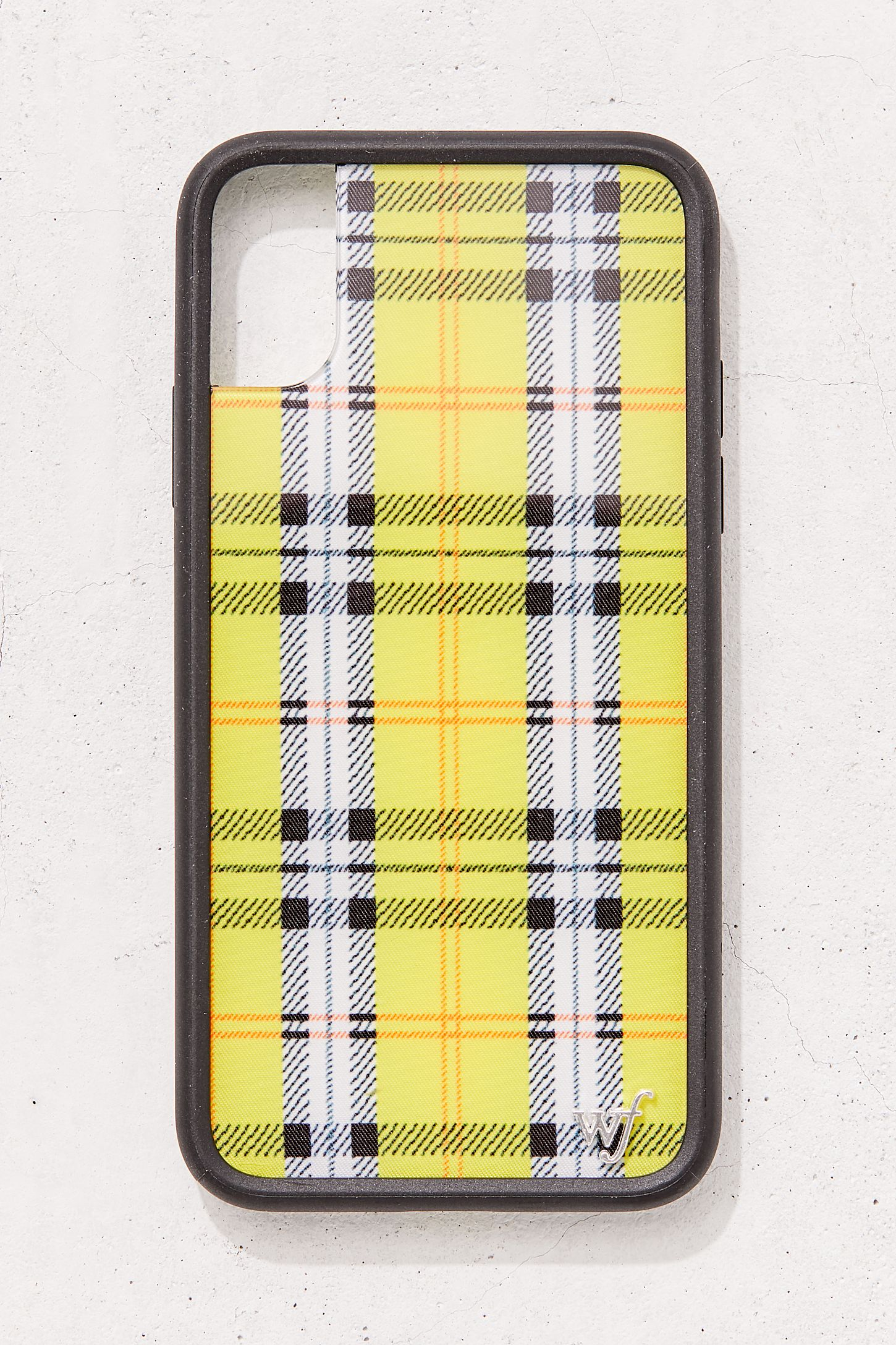 best sneakers 4e062 8bc1c Wildflower Yellow Plaid iPhone X/XS Case