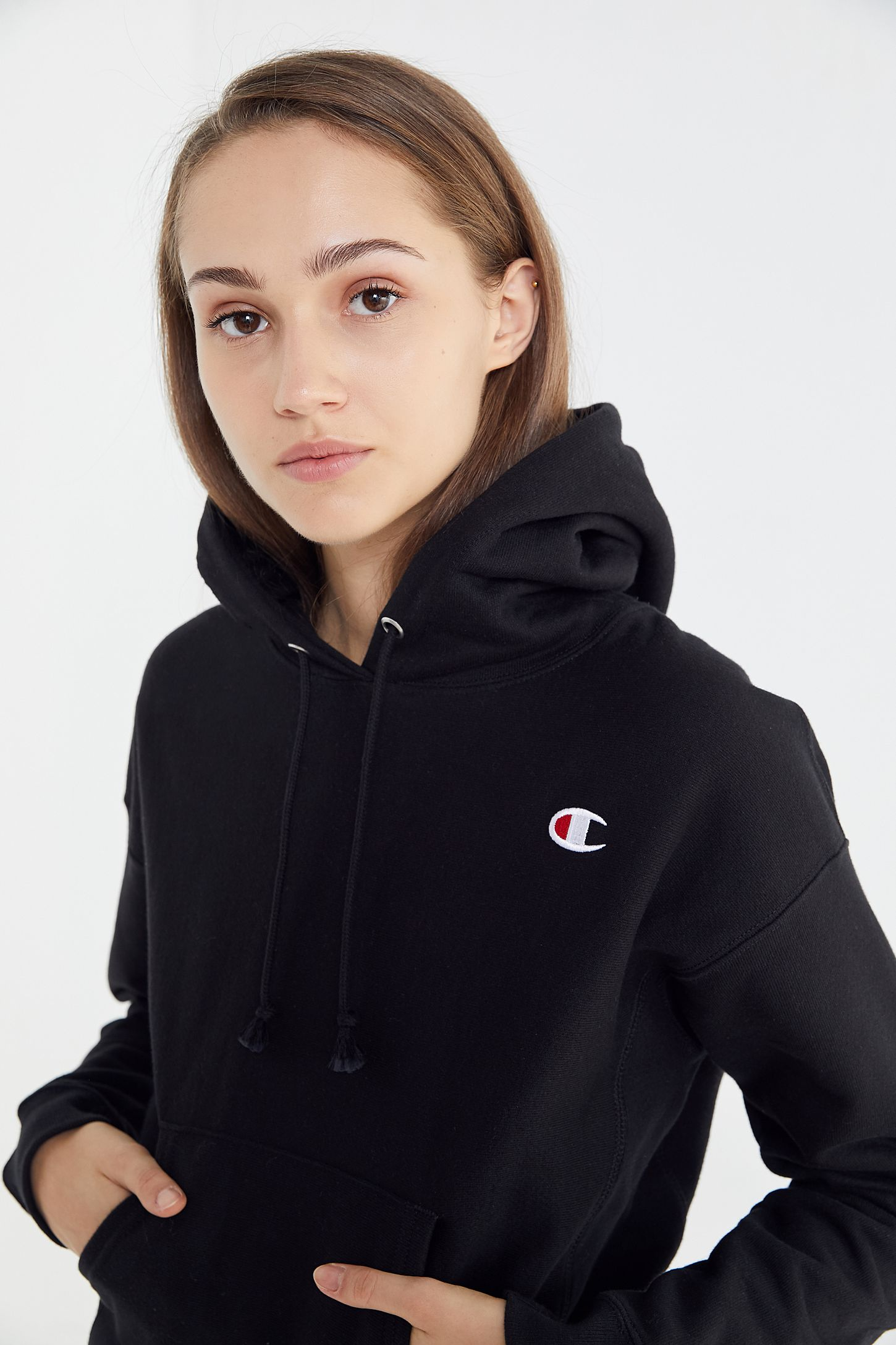 57ca79fba07b Champion Reverse Weave Hoodie Sweatshirt Urban Outfitters - raveitsafe
