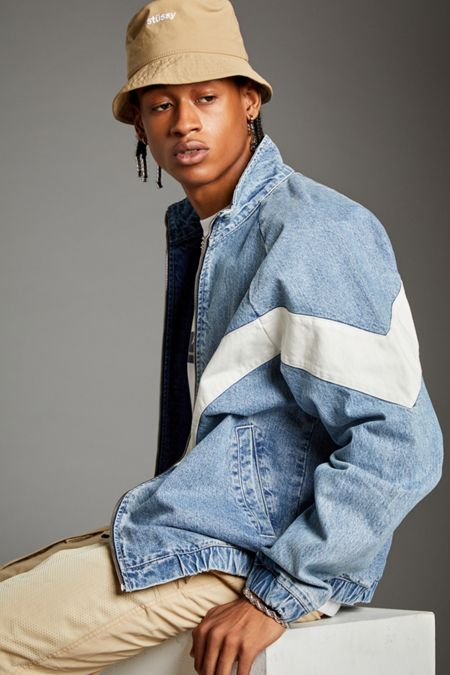 dcba31469e New Colors Available. BDG Meadowland Denim Track Jacket