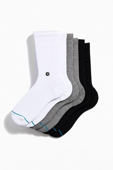bdb564e00ff Black. Stance Icon Sock 3-Pack