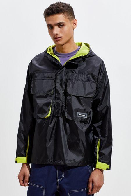 63e86e1c9b1d Stussy Drift Pullover Windbreaker Jacket. Quick Shop