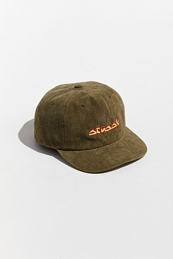 3eb68856 Stussy No Wale Corduroy Baseball Hat | Urban Outfitters