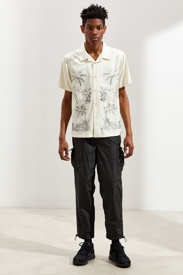 d0816954071085 Stussy Palm Tree Short Sleeve Button-Down Shirt | Urban Outfitters