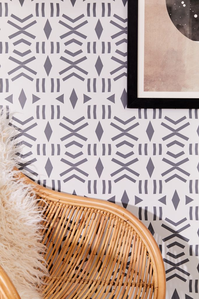 Geo Removable Wallpaper Urban Outfitters