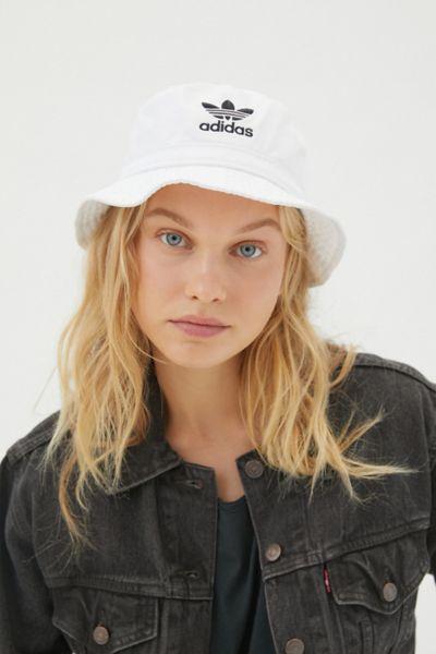 Adidas Originals Denim Bucket Hat Urban Outfitters