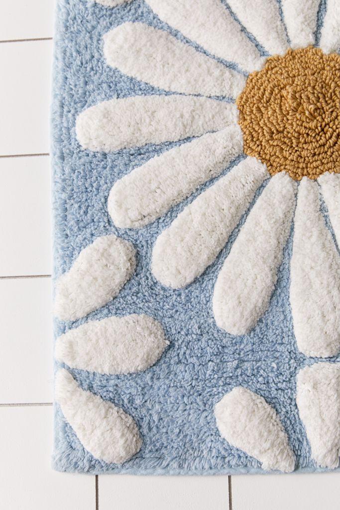 Daisies Tufted Bath Mat Urban Outers